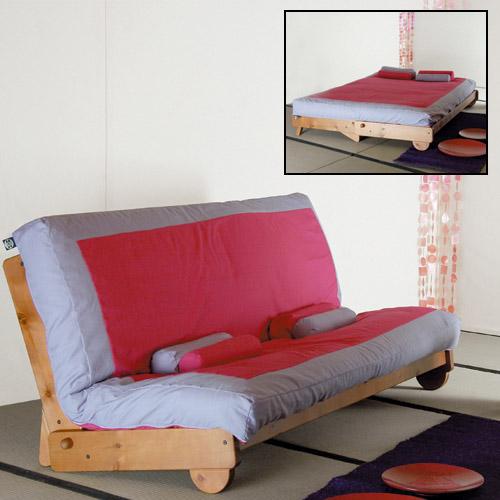 Linn sui arredamento bio ecologico futon tatami letti - Futon divano letto ...